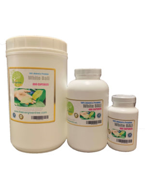 White Bali kratom Capsules, White Bali Kratom Capsules (500mg), Buy Kratom Online - the evergreen tree |