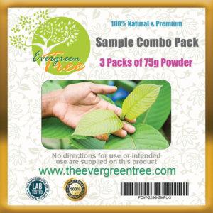 kratom sample, Kratom Sample Combo Pack, Buy Kratom Online - the evergreen tree |