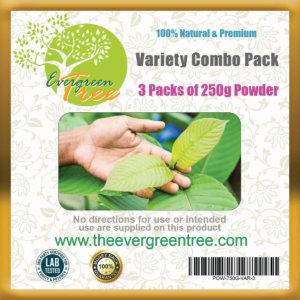 kratom variety, Kratom Variety Combo Pack, Buy Kratom Online - the evergreen tree |